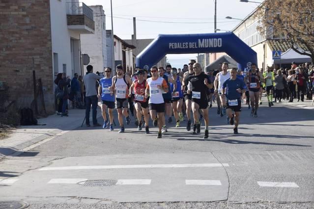 Jordi Trepat i Elisa Lladós, primers  guanyadors de la Cursa i Marxa del Pou Bo de Torregrossa