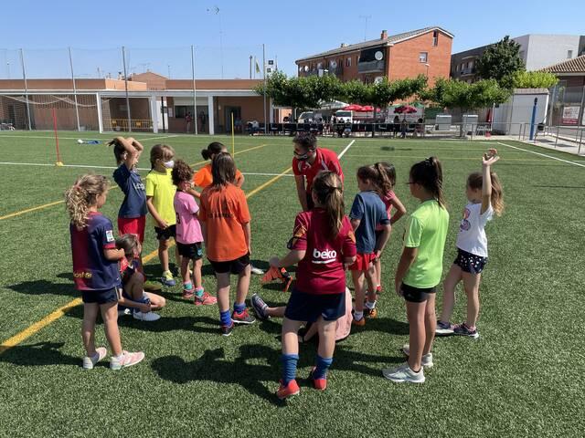 Jornada de Promoció del Futbol Femení a Golmés