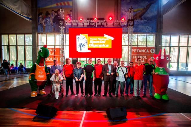 Josep Pijoan d'Acudam rep un premi d'honor dels Special Olympics