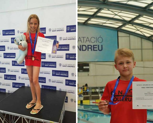 Júlia Stolarczyk Okarama, del Club Natació Mollerussa, es proclama Campiona de Catalunya i David Lukasz Lech, aconsegueix la medalla de bronze.