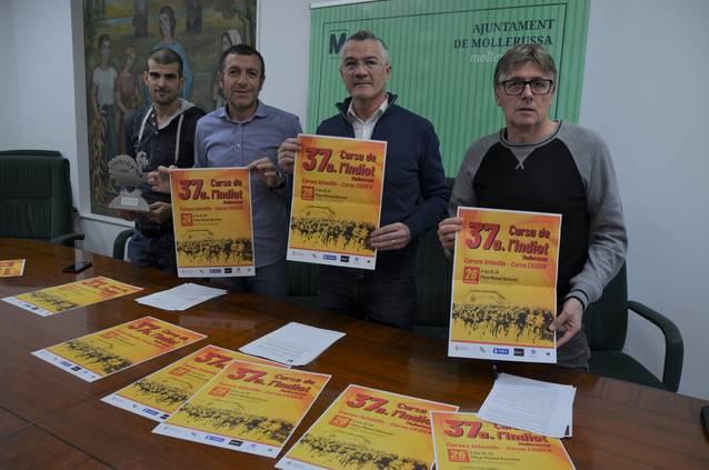 La 37a Cursa de l'Indiot espera 700 participants el dia de Sant Esteve en un recorregut urbà de 8 km