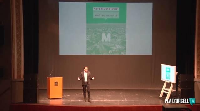 La conferència anual de l'alcalde de Mollerussa es retransmetrà el 18 de setembre pel canal municipal de YouTube