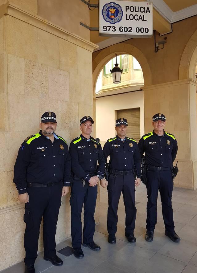La Policia Local estrena uniforme per equiparar-lo a la resta de cossos policials d'àmbit municipal a Catalunya