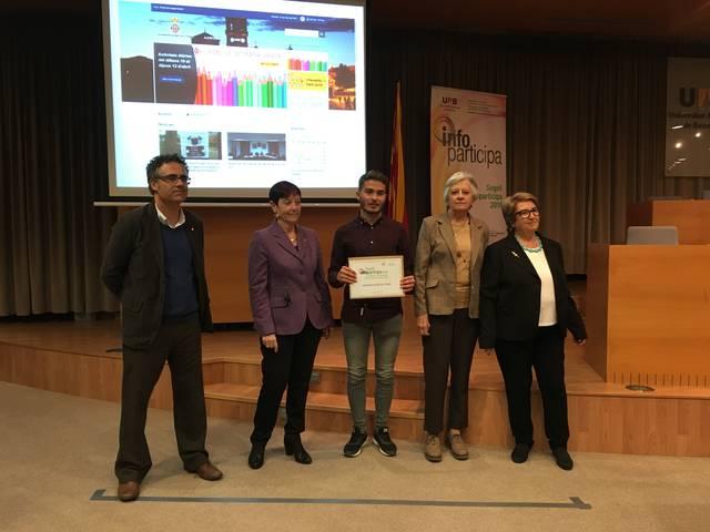 La Universitat Autònoma de Barcelona torna a distingir L'Ajuntament de Bell-lloc d'Urgell com el més transparent de la província de Lleida
