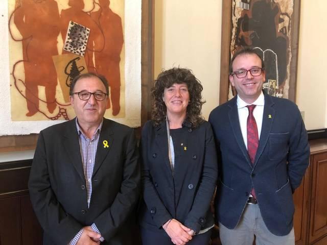 L'alcalde de Mollerussa es reuneix amb la consellera d'Agricultura per abordar un nou marc de col·laboració institucional