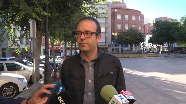 L'alcalde de Mollerussa, Marc Solsona, s'acull al dret de no declarar