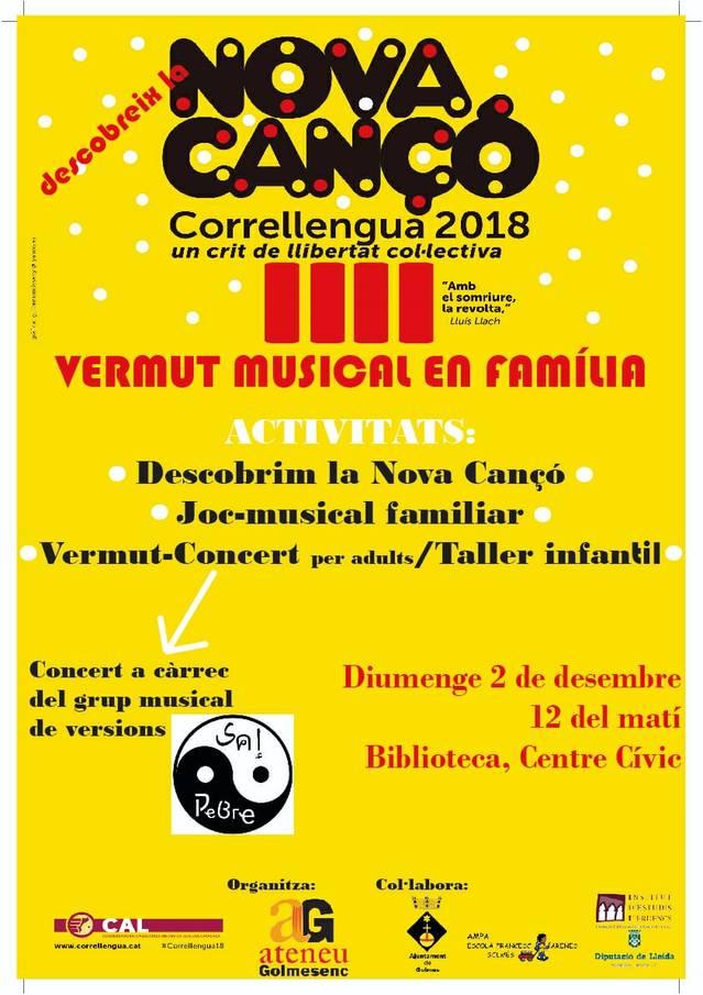 L'Ateneu Golmesenc celebra diumenge el Correllengua
