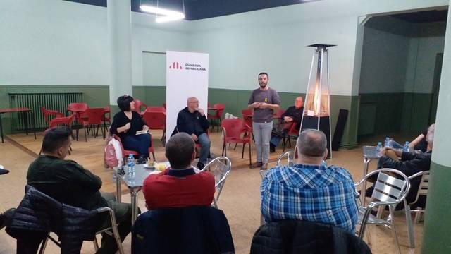 L'exconseller Josep Huguet es reuneix amb empresaris de Mollerussa per debatre com convertir la 'peatonalització del centre' en una oportunitat de negoci