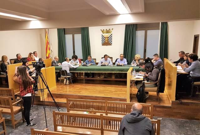L'Ajuntament de Mollerussa vol renovar una vintena de bancs del parc i instal·lar tres espais per jugar a tennis taula