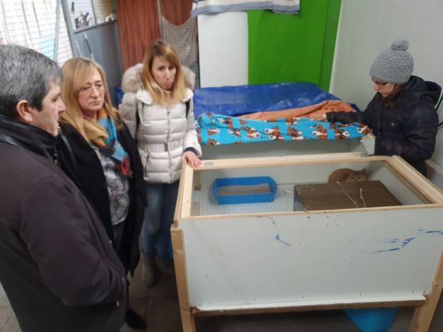 L'Ajuntament de Salou s'interessa pel model de funcionament del Refugi de Trànsit d'Animals