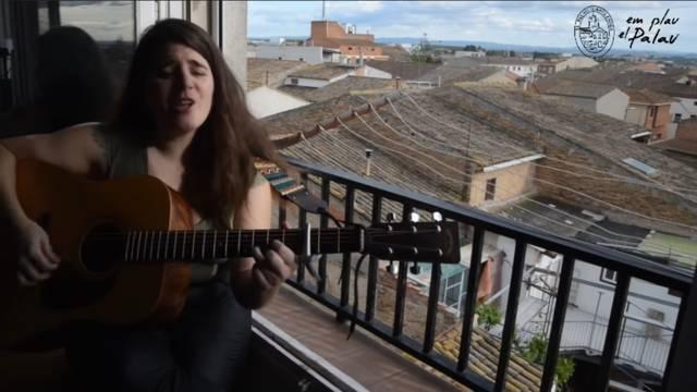 L'Ajuntament d'El Palau d'Anglesola ha emès aquest dissabte un concert amb músics locals