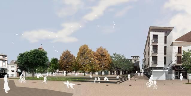L'Ajuntament licita les obres de reforma del centre que eliminarà el trànsit rodat per prioritzar el vianant