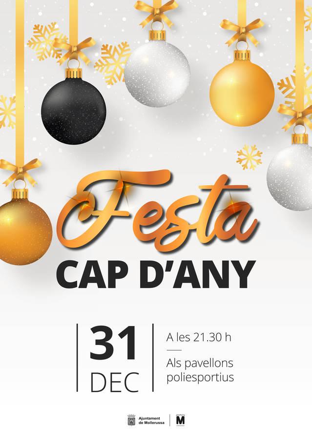 L'Ajuntament organitza de nou el sopar de Cap d'Any als pavellons poliesportius i amplia els comensals a 750