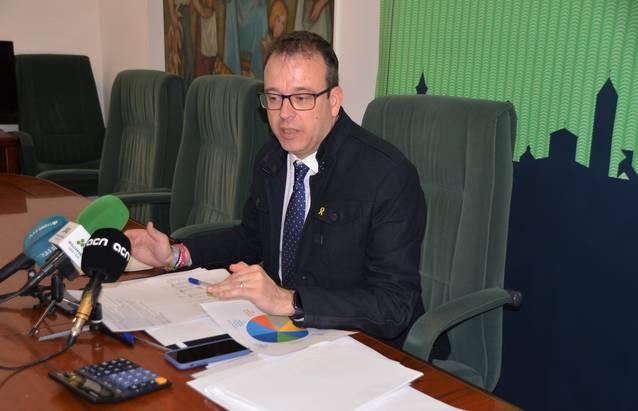 L'Ajuntament presenta un pressupost de 14'2 M€ per al 2020, una xifra un 4% inferior a l'any passat