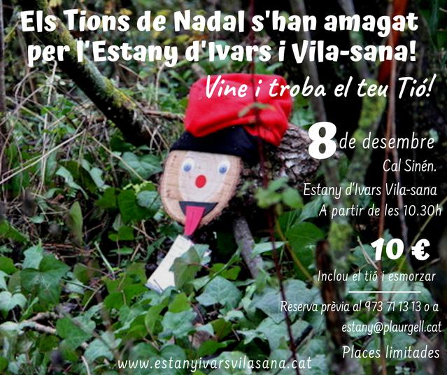 L'estany d'Ivars i Vila-sana organitza un CaçaTió aquest proper dissabte