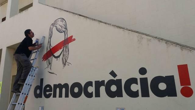 Linyola es suma a la Marató per la Democràcia