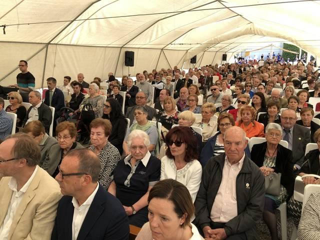 Més de 1.000 persones commemoren el 25è aniversari de la Festa de la Mare de Déu de la Cabeza