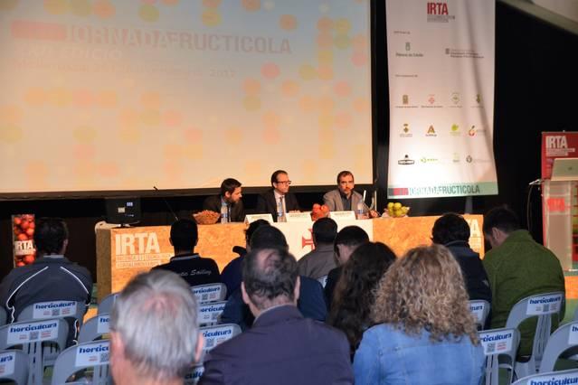 Mollerussa acull la XXI Jornada Fructícola amb 1.700 participants i 120 empreses representades