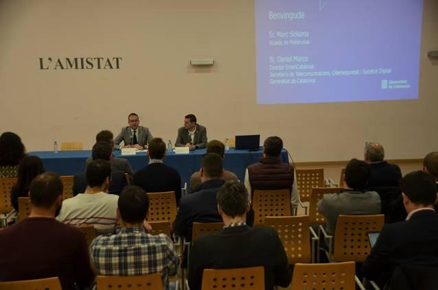 Mollerussa dóna a conèixer els beneficis en el sector agroalimentari de les tecnologies IoT i Dron