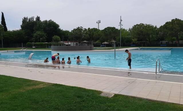 Mollerussa obre la temporada de les piscines d'estiu