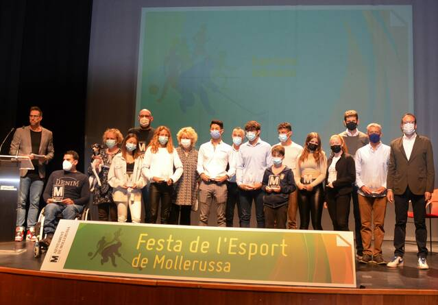 Mollerussa reconeix els mèrits dels seus esportistes i la tasca dels clubs en la Festa de l'Esport al Teatre L'Amistat
