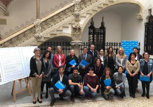 Mollerussa reforça el compromís com a Ciutat Amiga de la Infància en una trobada d'UNICEF a Barcelona