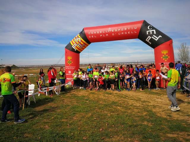 Prop de 250 atletes al 4rt Cros del Plataner de Vila-sana