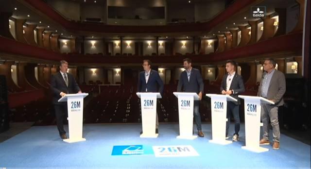 Debat Electoral de Mollerussa de Lleida TV
