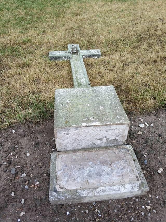 Segon atac consecutiu al cementiri del Palau d'Anglesola