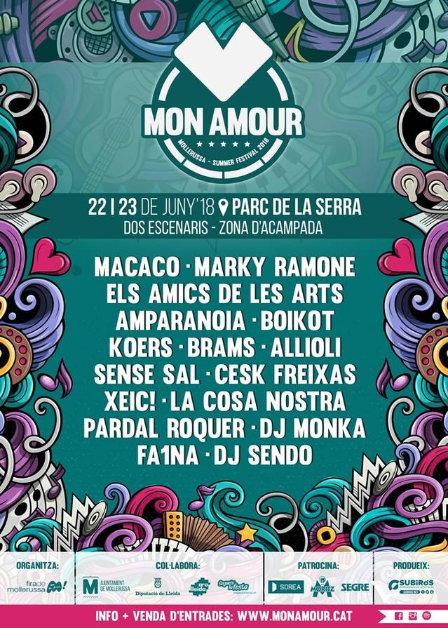 Tot a punt per al Mon Amour Mollerussa Summer Festival