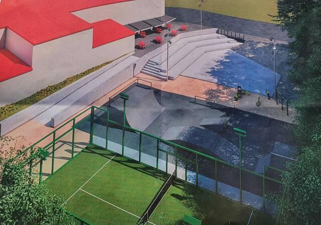 Vila-sana completa una gran zona poliesportiva i cultural al centre del municipi