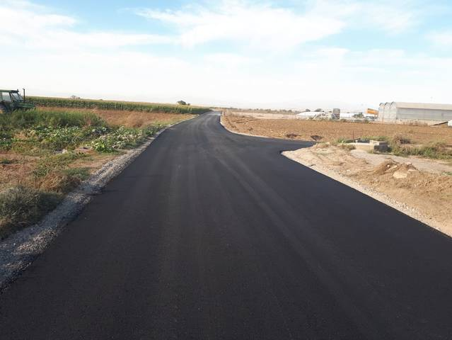 Vila-sana pavimenta els accessos a la població