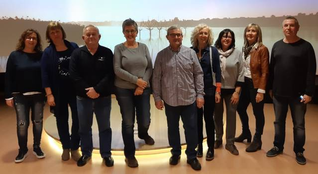 Vila-sana presenta la nova junta local de l'AECC