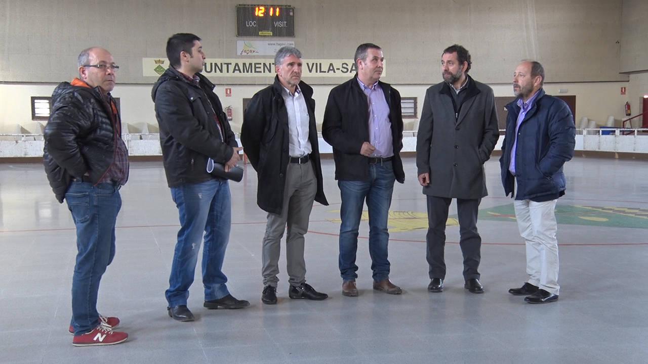 Vila-sana renova el conveni de col·laboració amb la Federació Catalana de Patinatge