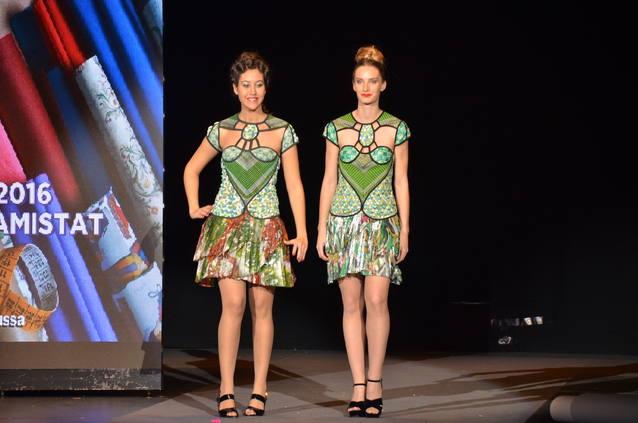 Vuit vestits de la col·lecció del Museu de Vestits de Paper s'exhibiran a la 080 Barcelona