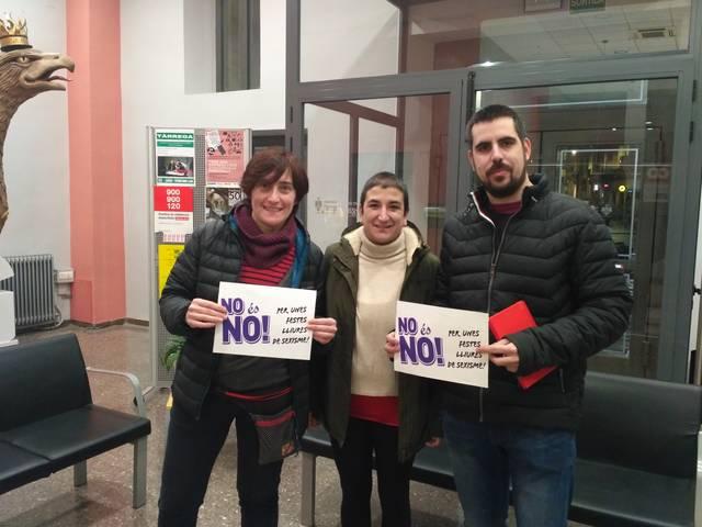 La CUP de Tàrrega proposa a l'ajuntament la realització d'un protocol contra les agressions sexistes