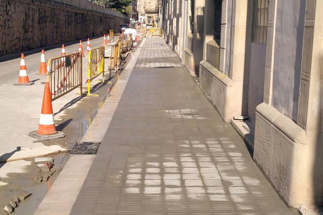 Adjudicats els treballs per renovar el paviment asfàltic en sis vials de Tàrrega