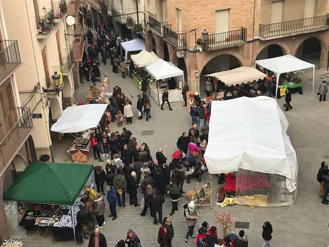 Agramunt celebra el tradicional Mercat de Nadal el 8 de desembre amb una cinquantena de parades