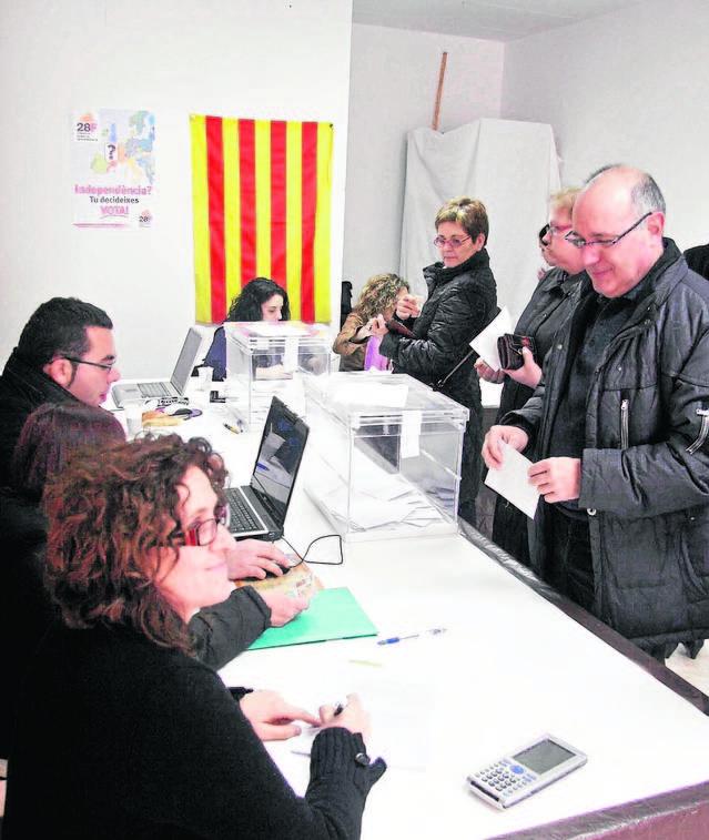 Agramunt commemora la primera consulta sobiranista