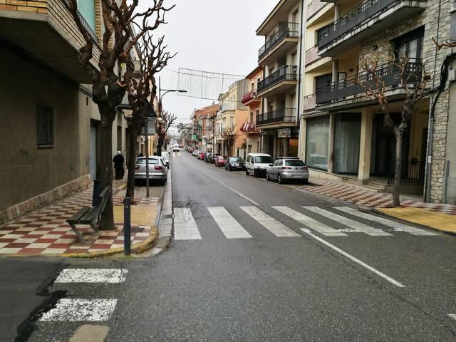 Agramunt eixamplarà les voreres de l'avinguda Jaume Mestres