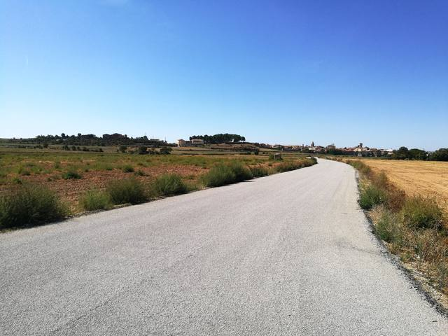 Agramunt finalitza els treballs d'arranjament dels camins de Les Puelles