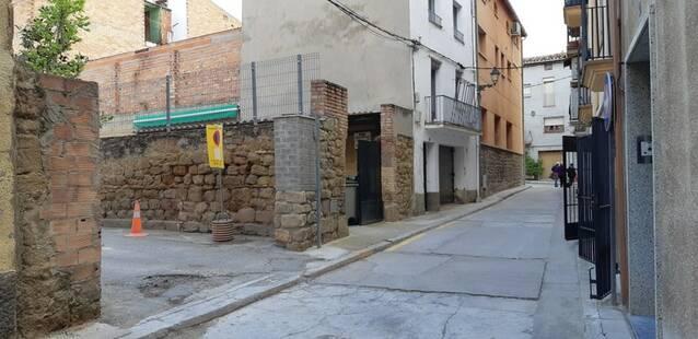 Agramunt modifica l'accés al pàrquing del Viladàs