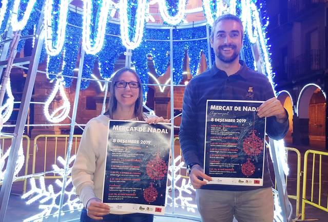 Agramunt organitza una edició més del Mercat Nadal, que com cada any tindrà lloc el 8 de desembre