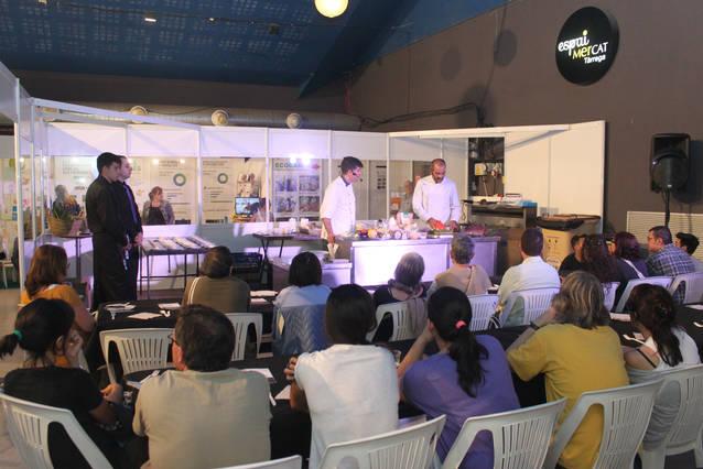 Èxit de visites a la 18a Fira del Medi Ambient de Tàrrega, amb èxit del nou espai de tast i cuina ecològica de proximitat