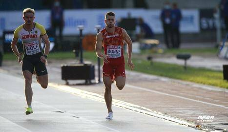 Arnau Monné torna amb dues medalles del Campionat d'Europa d'Atletisme Sub-23