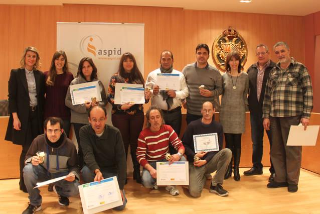 ASPID aconsegueix que 62 urgellencs trobin feina durant l'any 2017