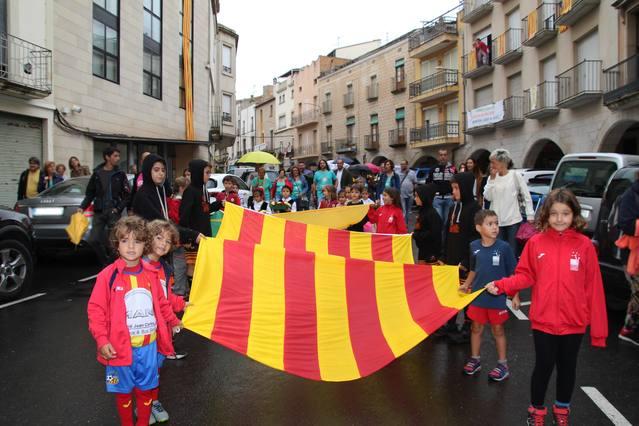 Bellpuig celebra la Diada Nacional de Catalunya