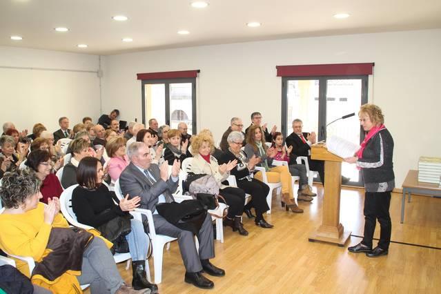 Bellpuig homenatja a l'Associació de Dones Atenea