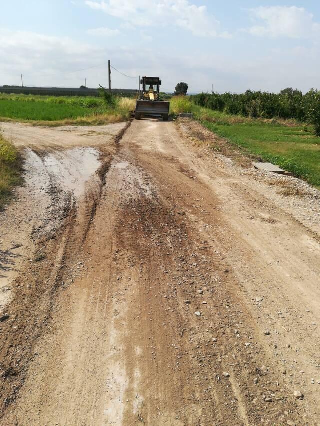 Bellpuig repara diversos camins municipals