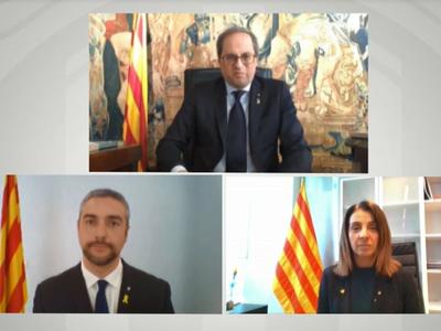 Bernat Solé pren possessió com a conseller d'Exteriors ''des d'Agramunt, per Catalunya